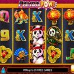 panda pow online slot from developer lightning box in game screenshot