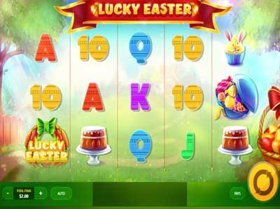 lucky easter online slot by red tiger gaming
