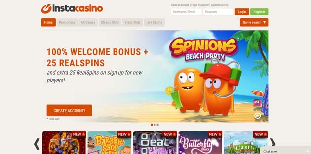 instacasino casino review