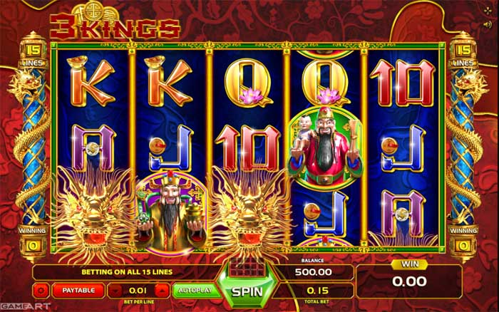 3kings slot review