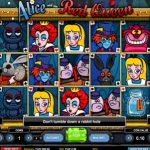 alice and the red queen online slot by 1x2 gaming reviewed