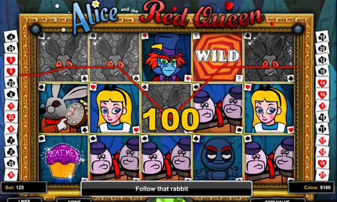 alice and the red queen slot review