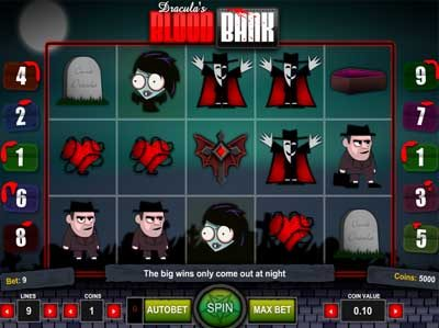 blood bank online slot review