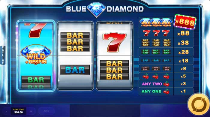 blue diamond slot review