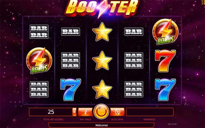 booster online slot
