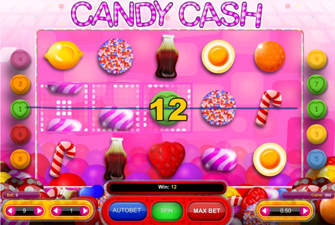 candy cash online slot