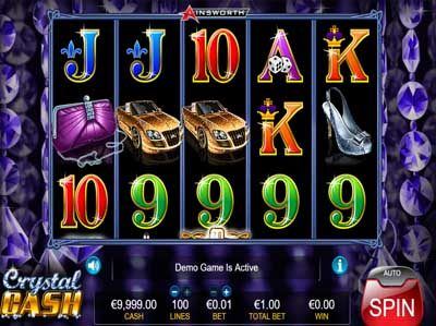 crystal cash online slot review