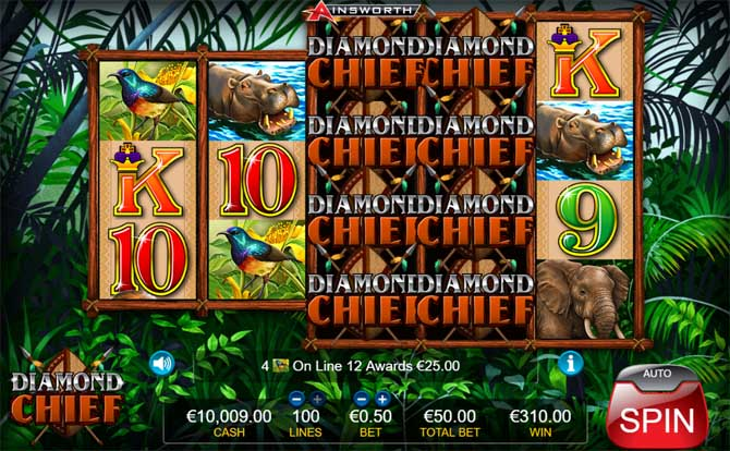 diamond chief slot review