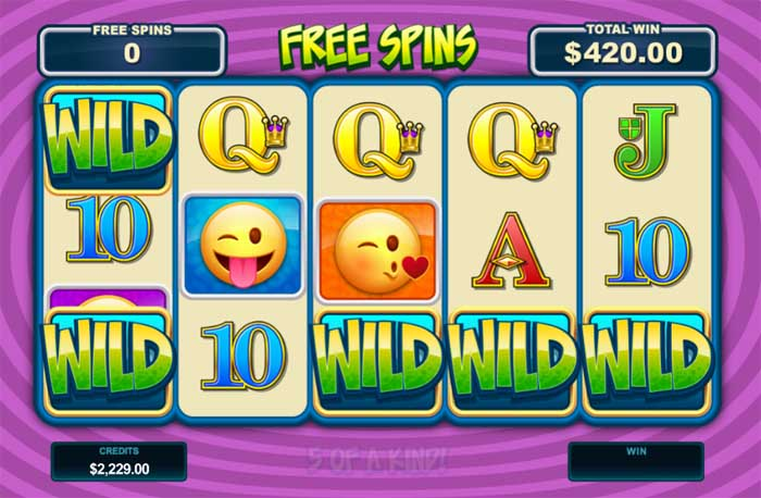 emoticoins free spins big win