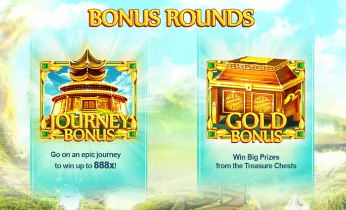 epic journey bonus rounds