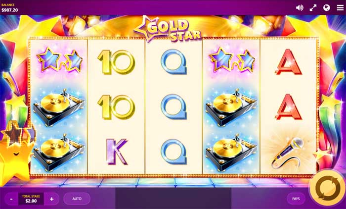 gold star slot review