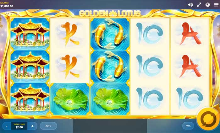 golden lotus slot review