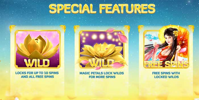 golden lotus special features