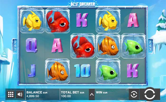 ice breaker a slot machine by push gaming