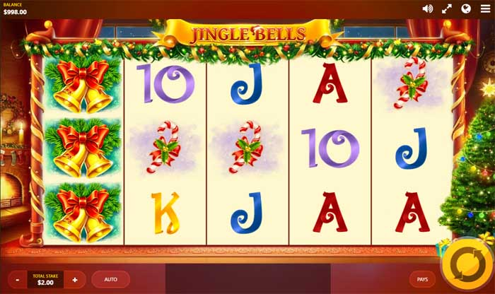 jingle bells slot by red tiger gaming