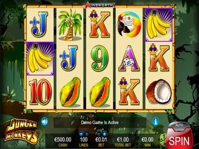 jungle monkeys online slot review