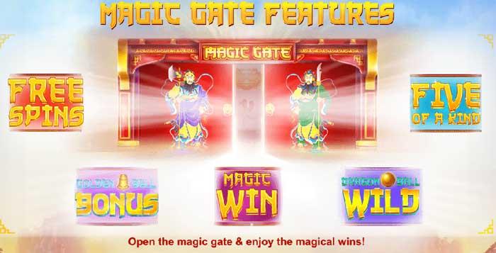 magic gate bonus features