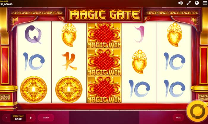magic gate slot by red tiger gaming