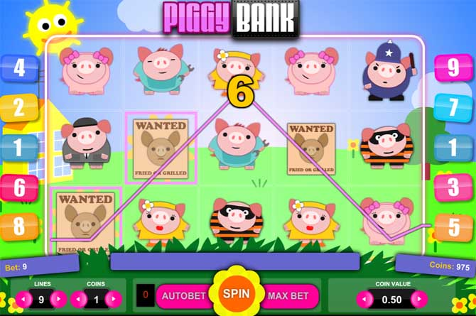 piggy bank slot review