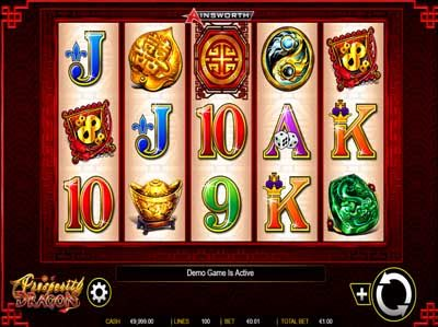 prosperity dragon online slot by ainsworth gaming