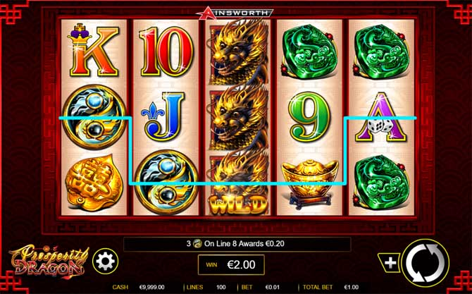 prosperity dragon online slot review