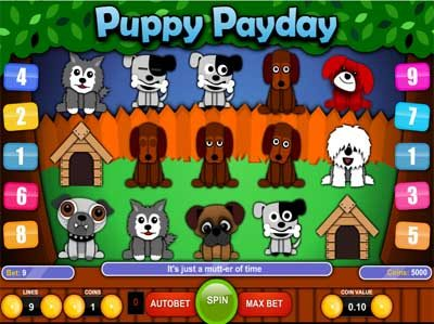 puppy payday online slot review