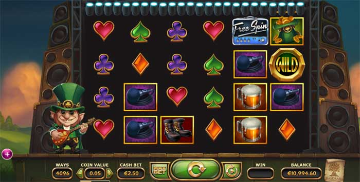 rainbow ryan online slot from yggdrasil gaming