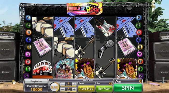 reels of rock online slot