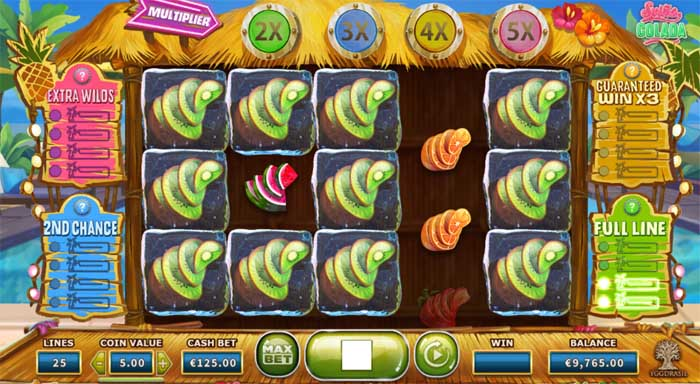 spina colada online slot bonus feature