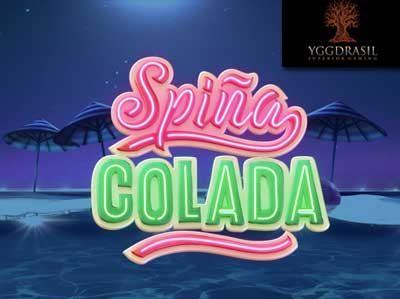 spina colada online slot by yggdrasil gaming