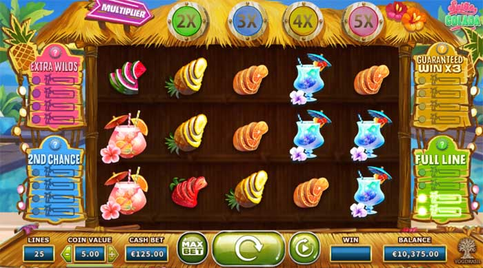spina colada online slot review