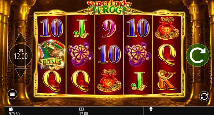 super lucky frog online slot