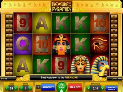 treasure of the pyramids online slot review