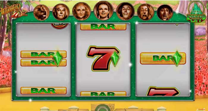 Wizard of Oz - Road to Emerald City Slot