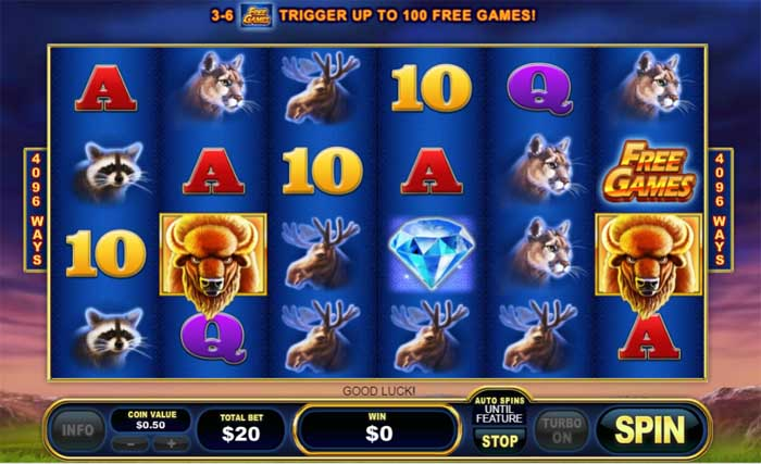buffalo blitz slot review
