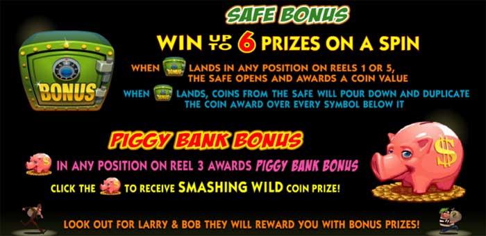 bust the bank bonus