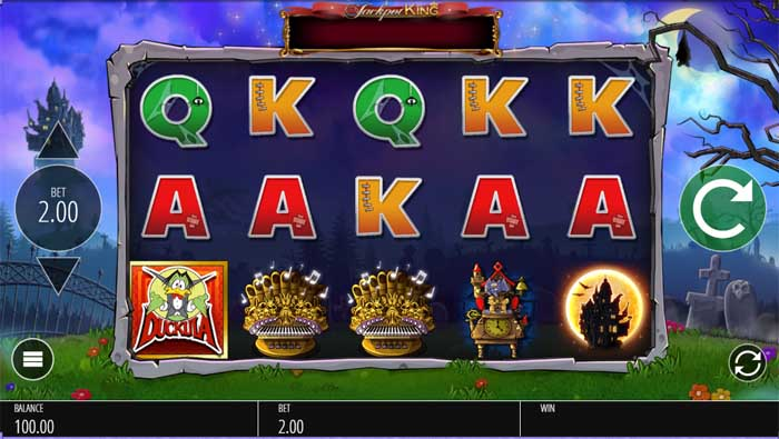 count duckula slot review