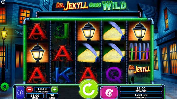 dr jekyll goes wild slot