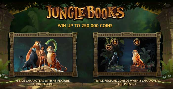 jungle books features