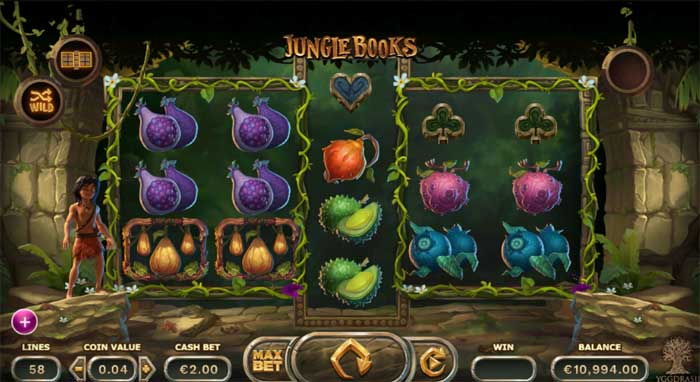 jungle books online slot review