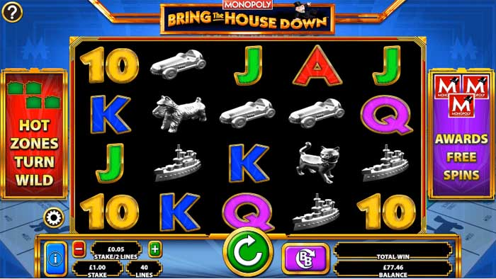 monopoly bring the house down barcrest online slot