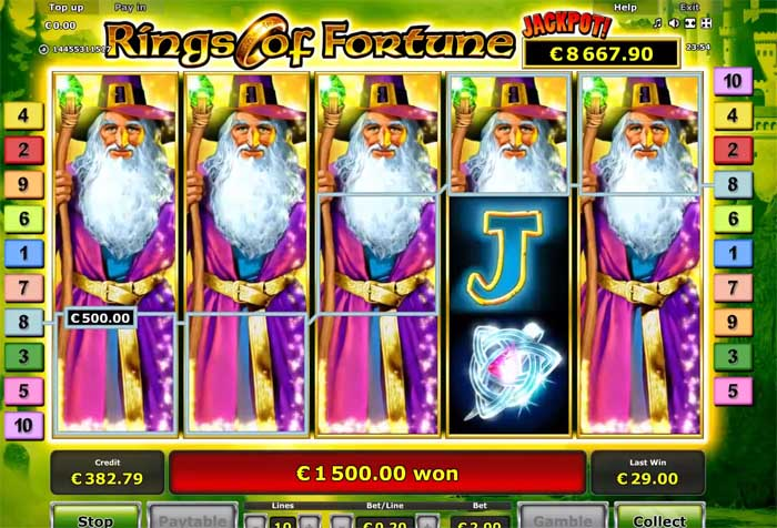 rings of fortune big win