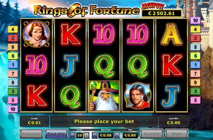 rings of fortune slot review