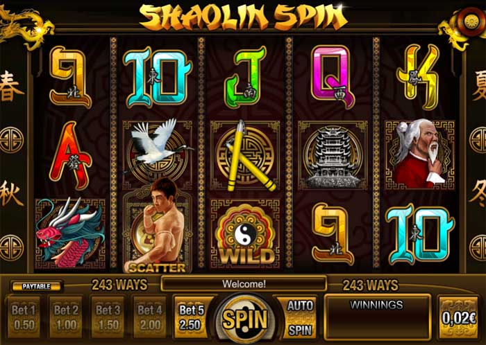 shaolin spin slot review