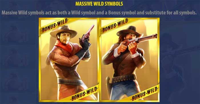 sticky bandits massive wild symbols