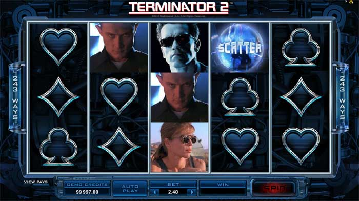 terminator 2 slot review