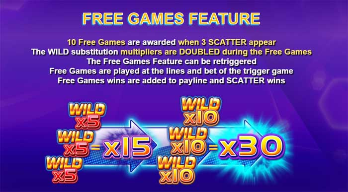 wild play super bet free games feature