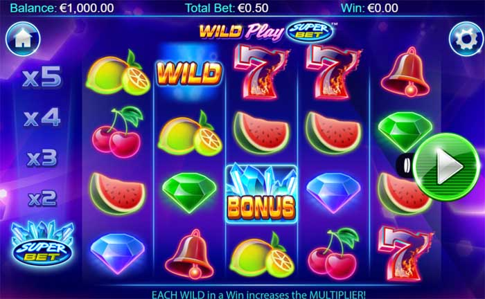 wild play super bet slot review