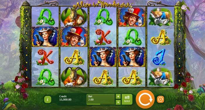 alice in wonderslots slot review