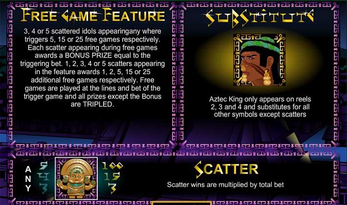 aztec treasures bonus